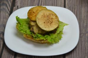 Сырный бургер - фото шаг 11