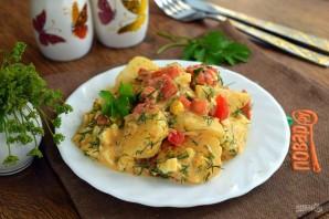 Пряный картофельный салат с укропом - фото шаг 6