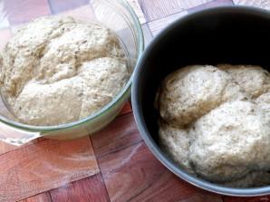 Хлеб с гречневой мукой и семенами - фото шаг 4