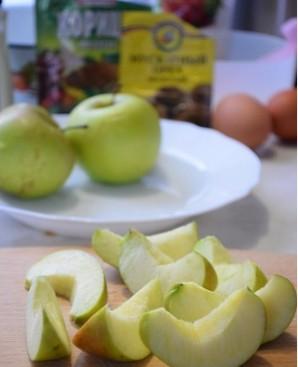 Яблочный кекс в мультиварке - фото шаг 1