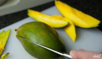 Пирог с манго и ванилью - фото шаг 6