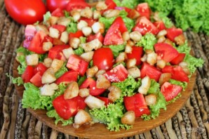 Салат из помидор с курицей и сыром - фото шаг 5