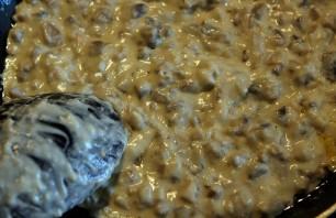 Фетучини с грибами и ветчиной - фото шаг 3