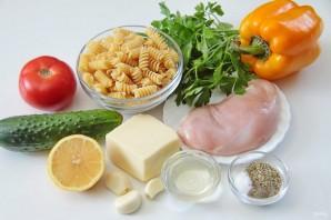 Салат с курицей и макаронами - фото шаг 1