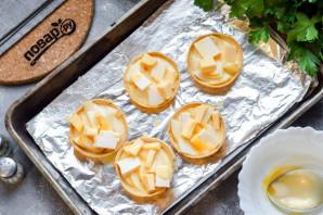 Тарталетки с грушей и сыром - фото шаг 5