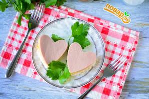 Бутерброды в виде сердца - фото шаг 8
