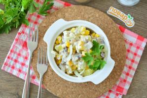 Салат из сельди с кукурузой - фото шаг 9
