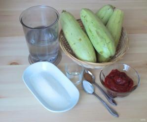 Кетчуп из кабачков - фото шаг 1