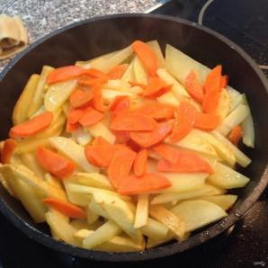 Баклажаны с картошкой - фото шаг 3