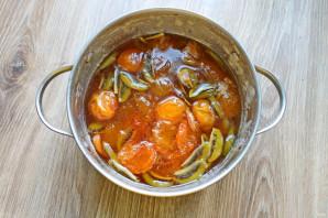 Варенье из абрикосов и киви - фото шаг 6