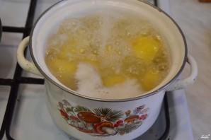 Картофельная запеканка со шпинатом - фото шаг 2