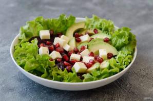 Салат со свеклой, авокадо и гранатом - фото шаг 7