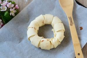 Шоколадное кольцо - фото шаг 5