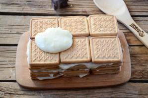 Торт из печенья с заварным кремом - фото шаг 8