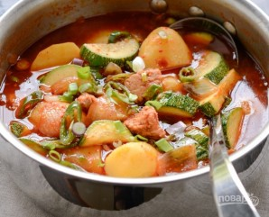 Суп из рыбной консервы - фото шаг 5