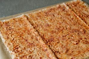 Чипсы из лаваша с кетчупом - фото шаг 3