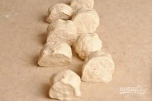 """Простой рецепт """"Хачапури"""" с сыром - фото шаг 4"""
