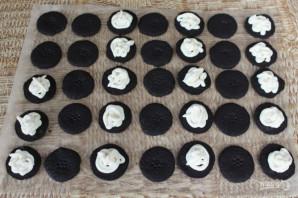 """Шоколадное печенье """"Орео"""" - фото шаг 10"""