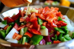 Овощной гарнир к мясу - фото шаг 7
