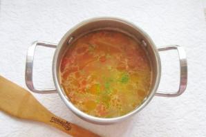 Куриный суп с сельдереем и рисом - фото шаг 9