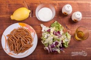 Салат с макаронами и йогуртом - фото шаг 1