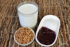 Коктейль из пророщенной пшеницы - фото шаг 1