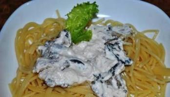 Сметанно-грибной соус - фото шаг 3