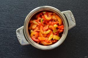 Маринованный перец с горчицей - фото шаг 4