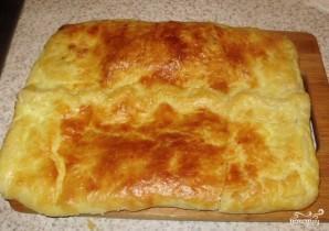 Пирог из слоеного теста с брынзой - фото шаг 5