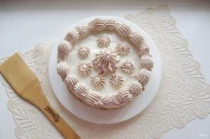Сметанный торт с грецкими орехами - фото шаг 17