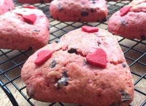"""Печенье """"Красное сердце"""" - фото шаг 12"""