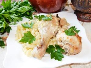 Курица в сметане с чесноком в духовке - фото шаг 5