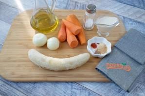 Остро-сладкий морковный биск - фото шаг 1
