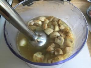Суп грибной на курином бульоне - фото шаг 4