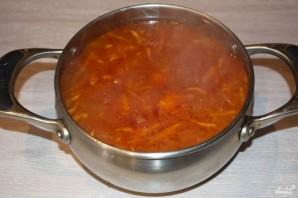 Томатный суп с сельдереем - фото шаг 8