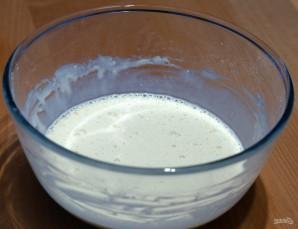 Тесто на блины на молоке - фото шаг 4