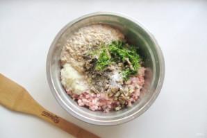 Котлеты из свинины с грибами - фото шаг 7