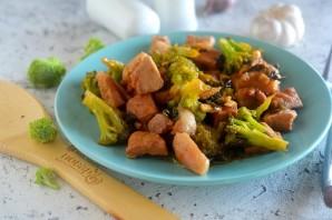 Жареная свинина с брокколи - фото шаг 7
