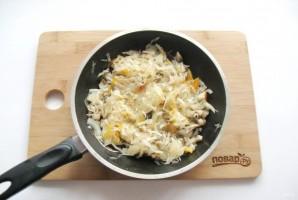 Пирог с квашеной капустой и грибами - фото шаг 9