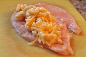 Курица на сковороде с сыром - фото шаг 1