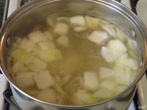 Сырный суп из плавленых сырков - фото шаг 5