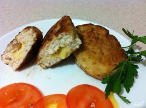 Котлеты с грибами и сыром - фото шаг 12