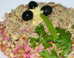 Простой салат со свининой - фото шаг 6