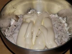 Лаваш с курицей и сыром  - фото шаг 4