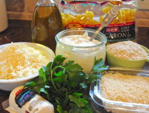 Запеканка из макарон с сыром - фото шаг 1