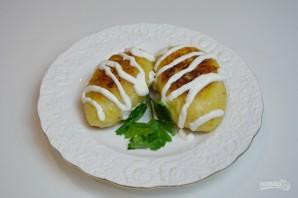 Зразы картофельные с мясом - фото шаг 13