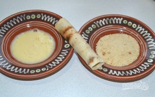 Сырные палочки из лаваша - фото шаг 7