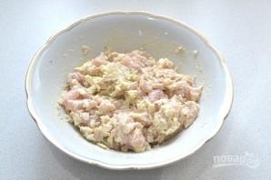 Рубленые куриные котлеты с грибами - фото шаг 8