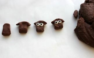 "Кексы ""Овечка"" - фото шаг 1"