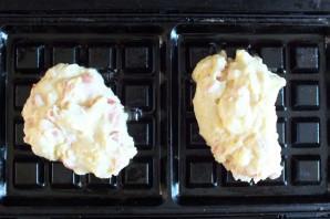 Картофельные вафли в мультипекаре - фото шаг 6